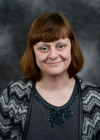 Portrait of Stephanie Walker, Dean of Libraries and Information Resources