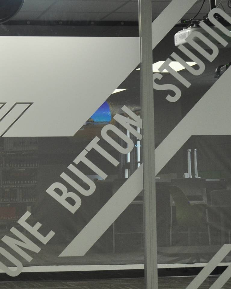 One Button Studio entrance